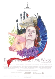THOSE WHO FALL HAVE WINGS Poster A4 72dpi RGB for Web